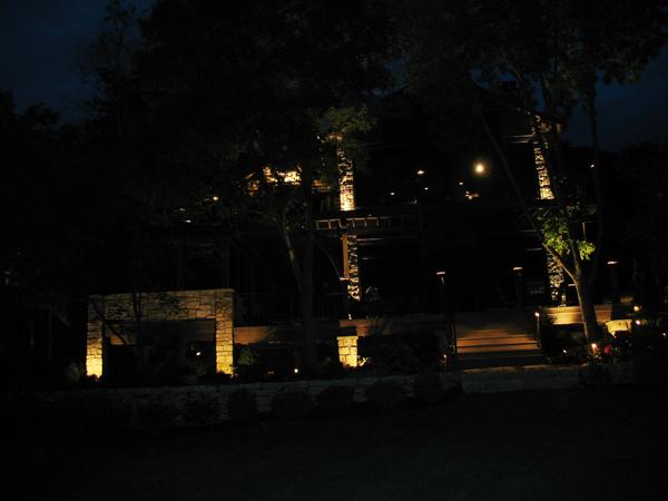 Landscape Lighting Lake Lotawana