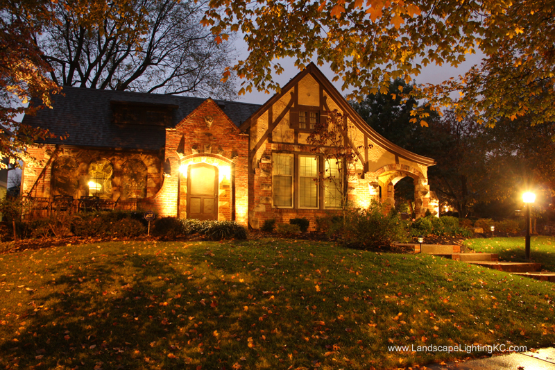 Landscape Lighting in Brookside