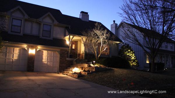 Landscape Lights in Overland Park