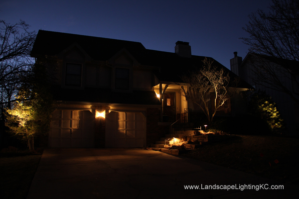 Landscape Lights in Overland Park