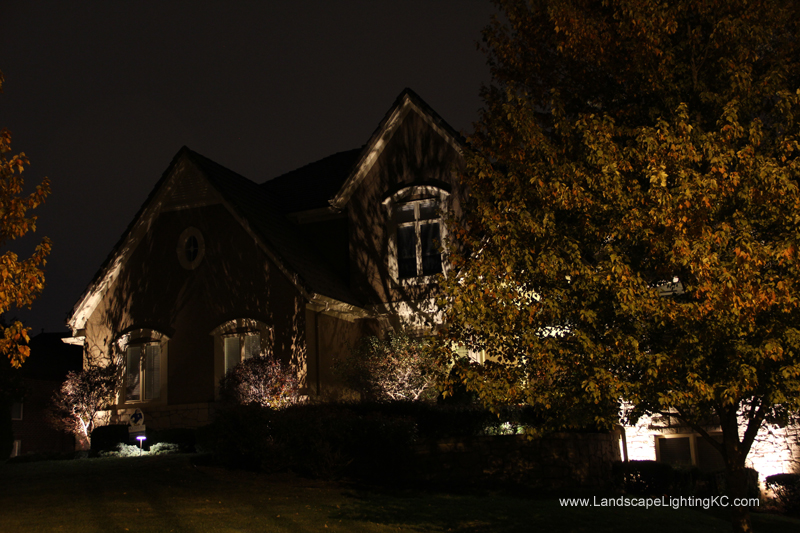 New Landscape Lights in Leawood, KS