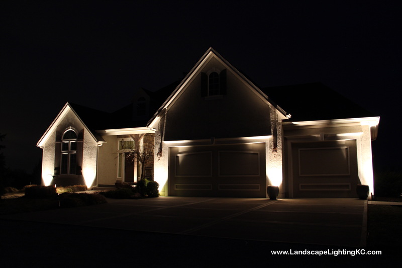Landscape Lighting in Louisburg, KS.