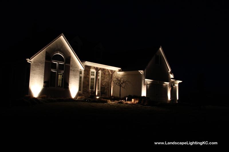 Landscape Lighting in Louisburg, KS.