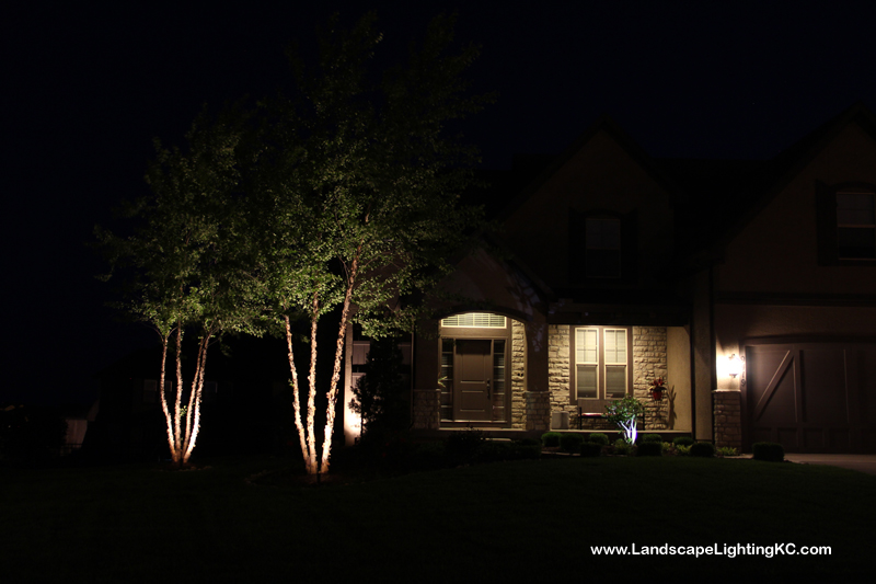Overland Park Landscape Lighting
