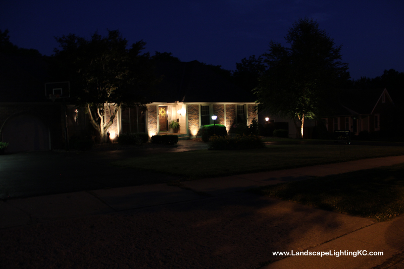 Landscape Lighting in Kansas City