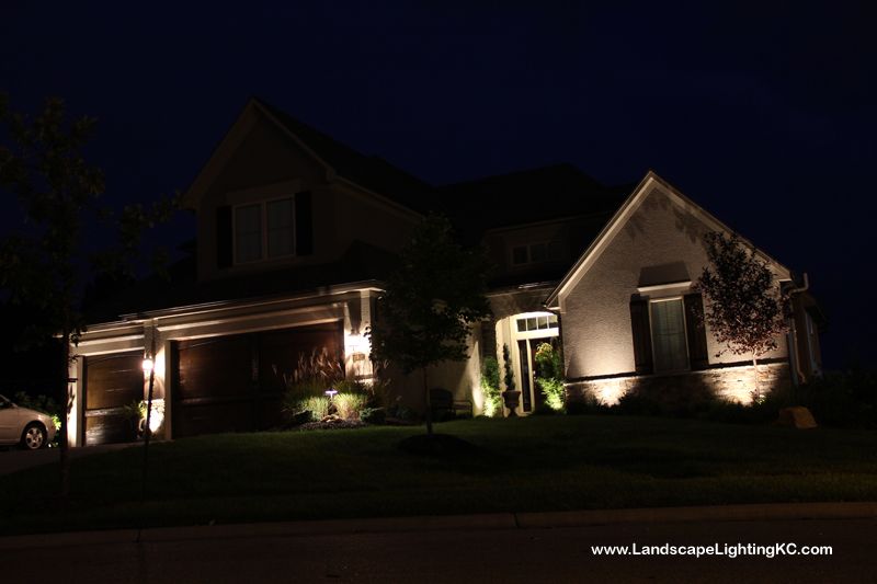 Overland Park Landscape Lighting - Smocks