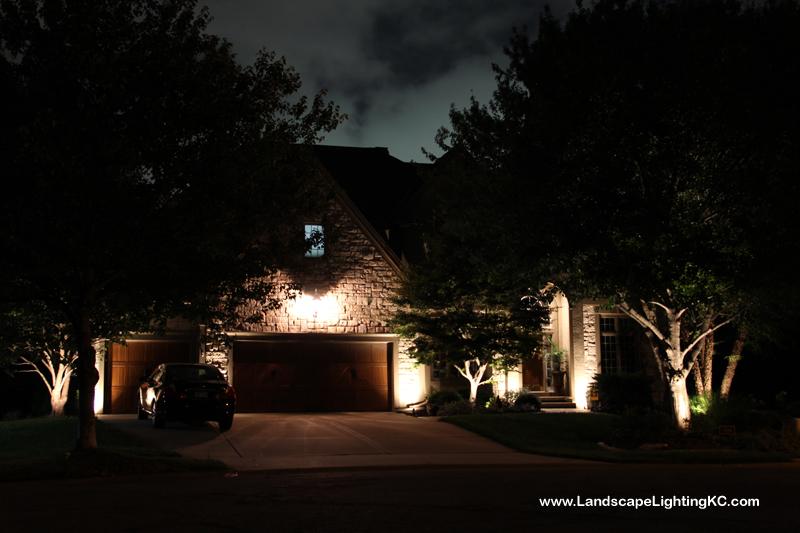 Overland Park Landscape Lighting - Montgomery